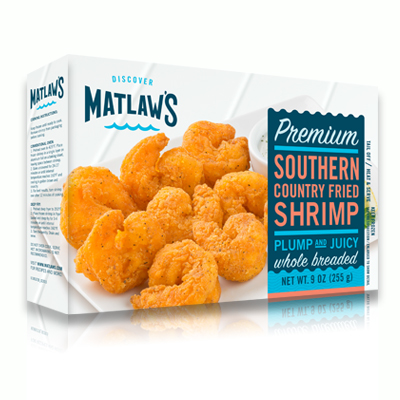 Southern Country Fried Shrimp
