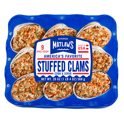 New England Style, Stuffed Clams
